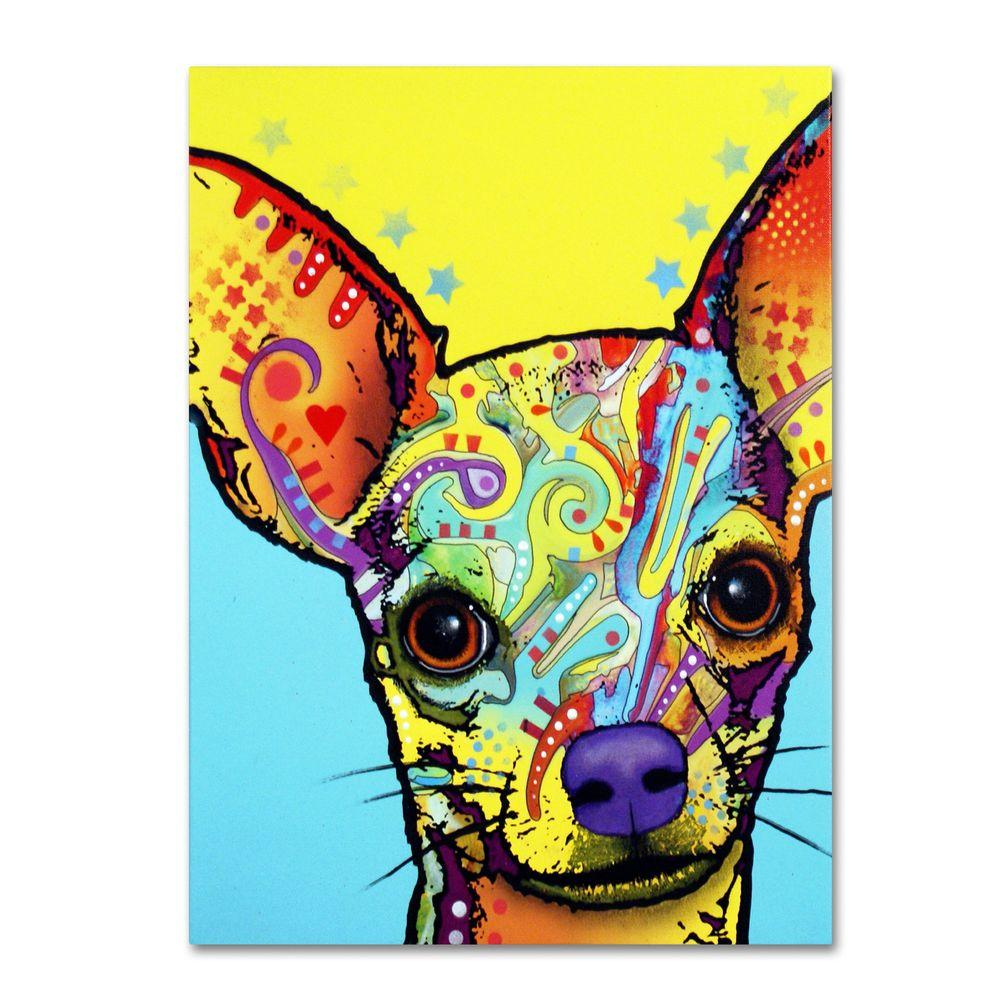 Trademark Fine Art 26 in. x 32 in. Chihuahua Canvas Art