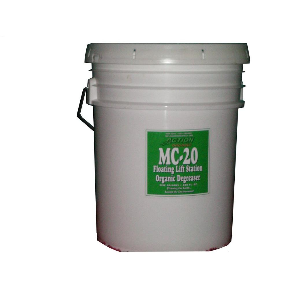 5 Gal. Pail Organic Cherry Scented Septic Tank and Lift Station