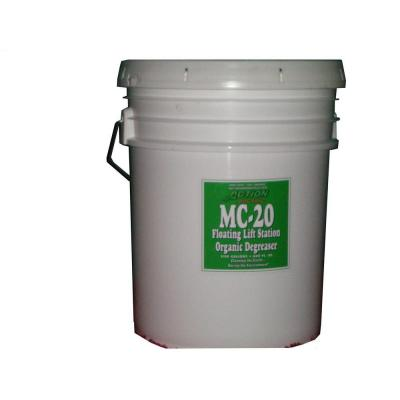 5 Gal. Pail Organic Cherry Scented Septic Tank and Lift Station Degreaser (Pallet)
