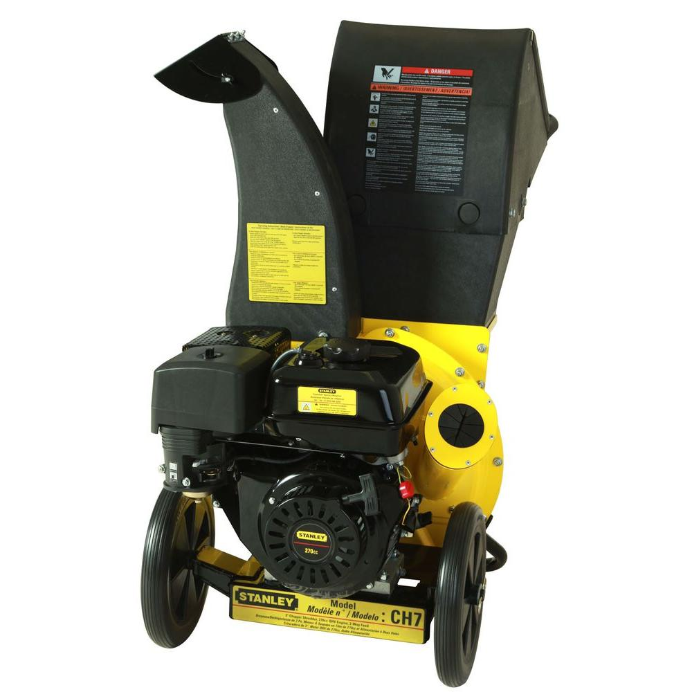 Stanley 11 HP 270 cc Chipper Shredder with 3 in. dia. Feed