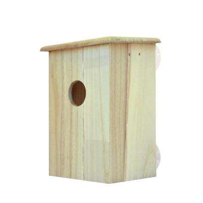 Real Wood Bird House