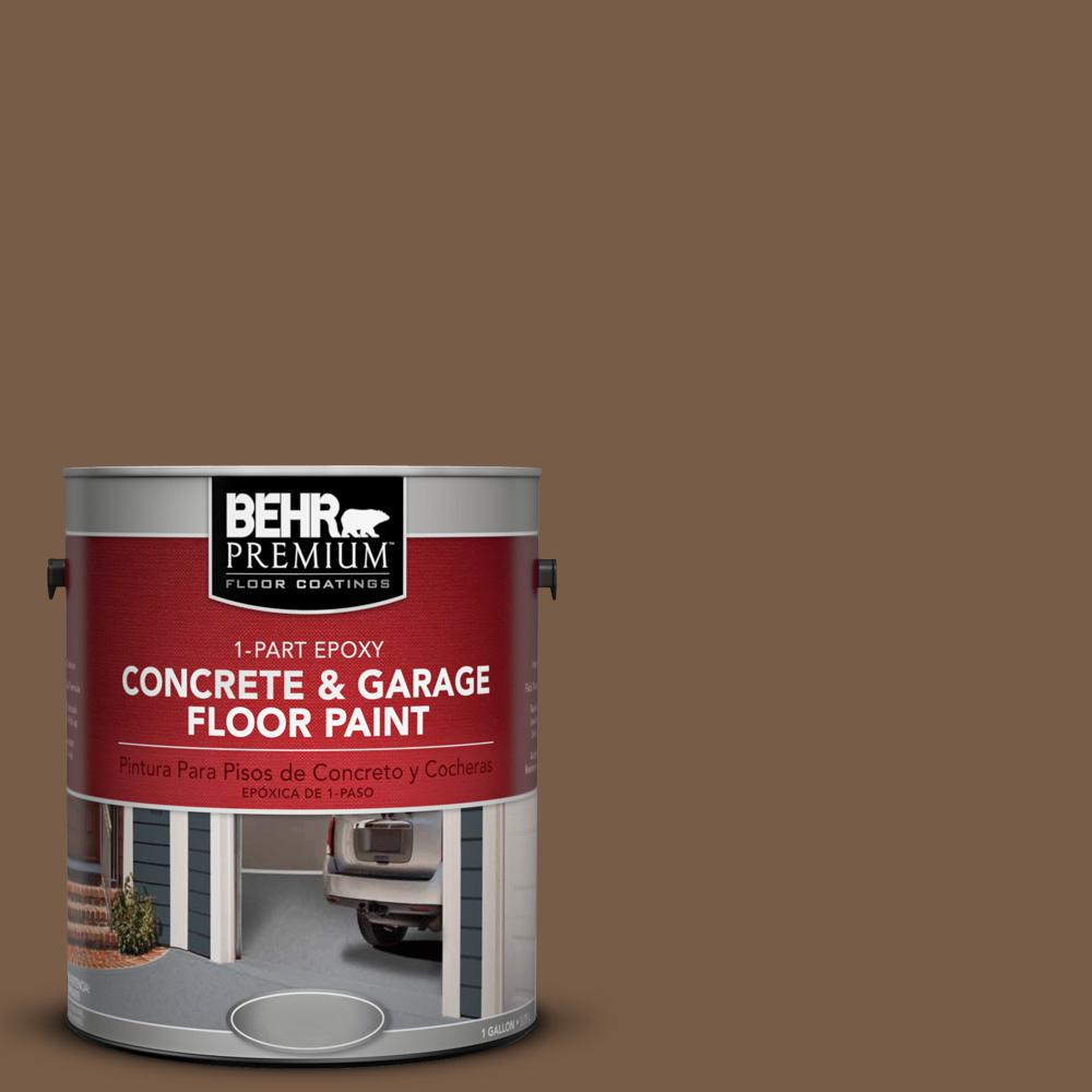 1 gal. #N250-7 Mission Brown 1-Part Epoxy Concrete and Garage Floor