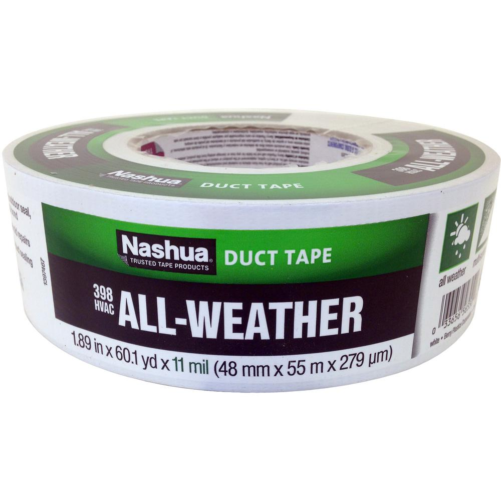 nashua tape 189 in x 60 yd 398 allweather hvac duct tape