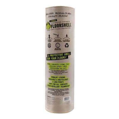 FloorShell 3.17 ft. x 100 ft. Heavy Duty Surface Protector