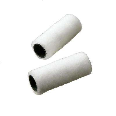 3 in. x 1/4 in. Trim Roller Cover (2-Pack)