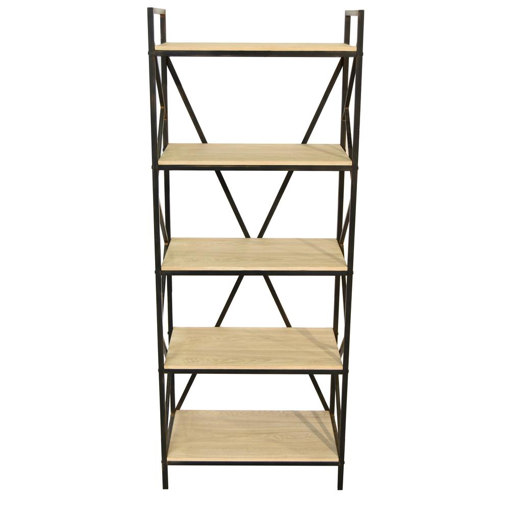 accent depot throughout open the photos bookcase furniture stackable storages trendy bookcases gold home rose etagere
