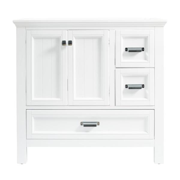 Brantley 36 in. W x 21-1/2 in. D Bath Vanity Cabinet Only in White