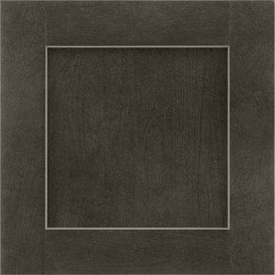 14-9/16 in. x 14-1/2 in. Cabinet Door Sample in Reading Cherry Slate