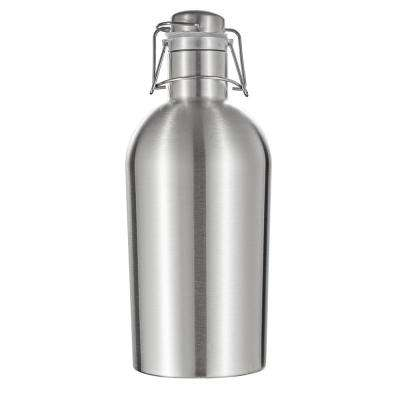 Cassis Stainless Steel Double Wall 64 oz. Insulated Beer Growler