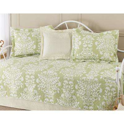 Rowland 5-Piece Green Daybed Set
