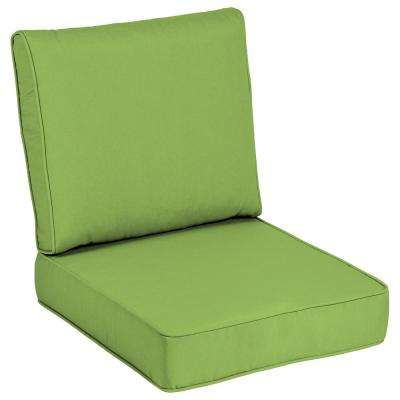 Sunbrella Canvas Gingko Outdoor Lounge Chair Cushion