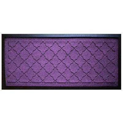 Purple 15 in. x 36 in. Cordova Boot Tray