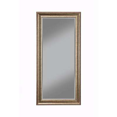 Antique Gold Full Length Floor Leaner Mirror