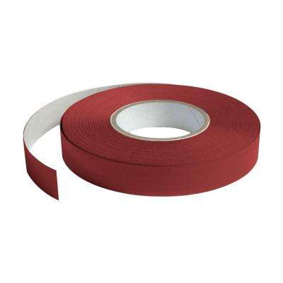 1 in. Wide x 100 ft. Long Roll Deco-Tape Faux Wood-Cherry Self-Adhesive Decorative Grid Tape