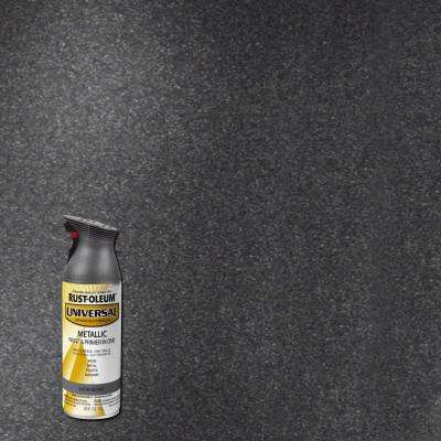 11 oz. All Surface Metallic Satin Nickel Spray Paint and Primer in One