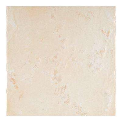 Castelli Beige Porcelain Floor and Wall Tile - 4 in. x 4 in. Tile Sample