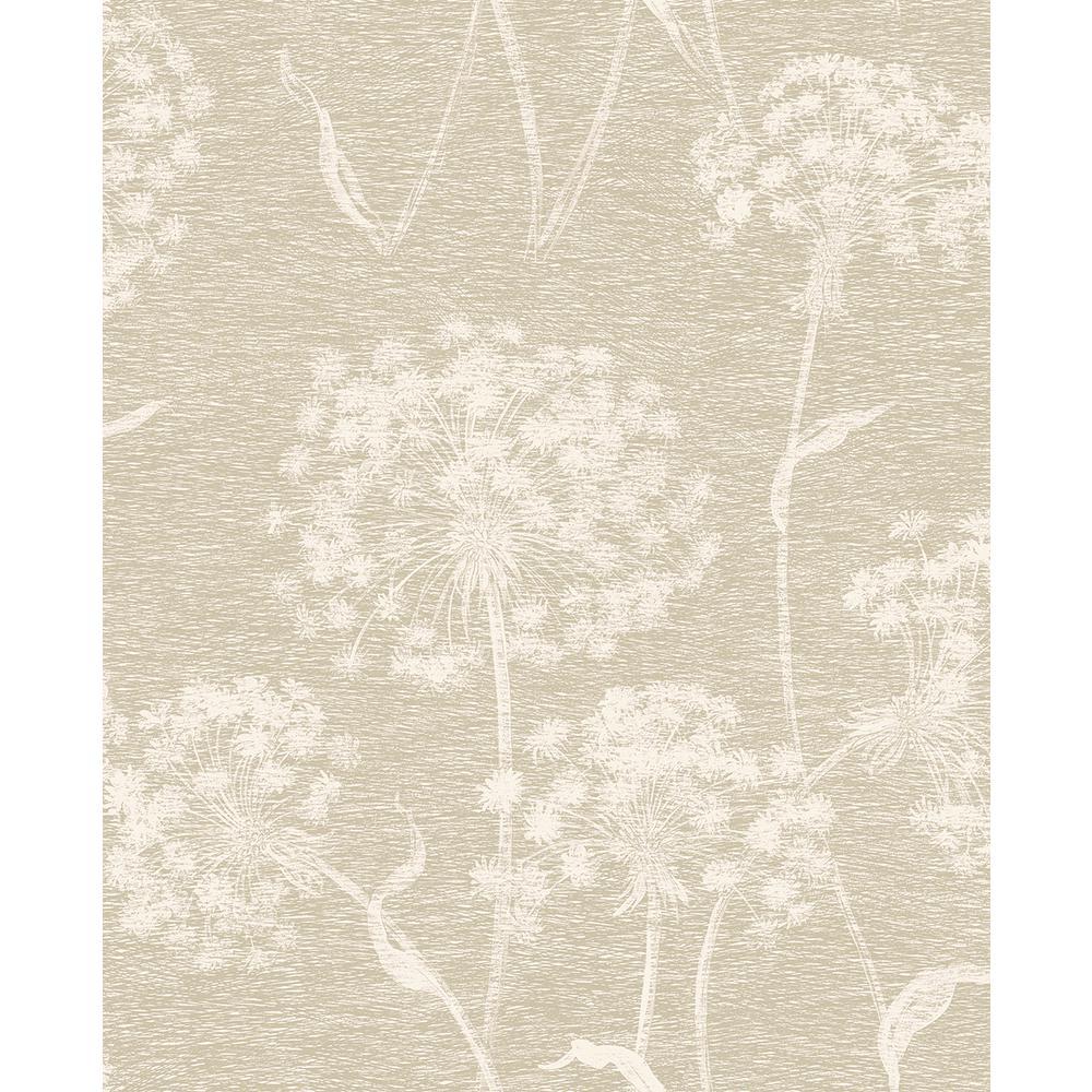 Carolyn Bone Dandelion Paper Strippable Roll (Covers 56.4 sq. ft.)