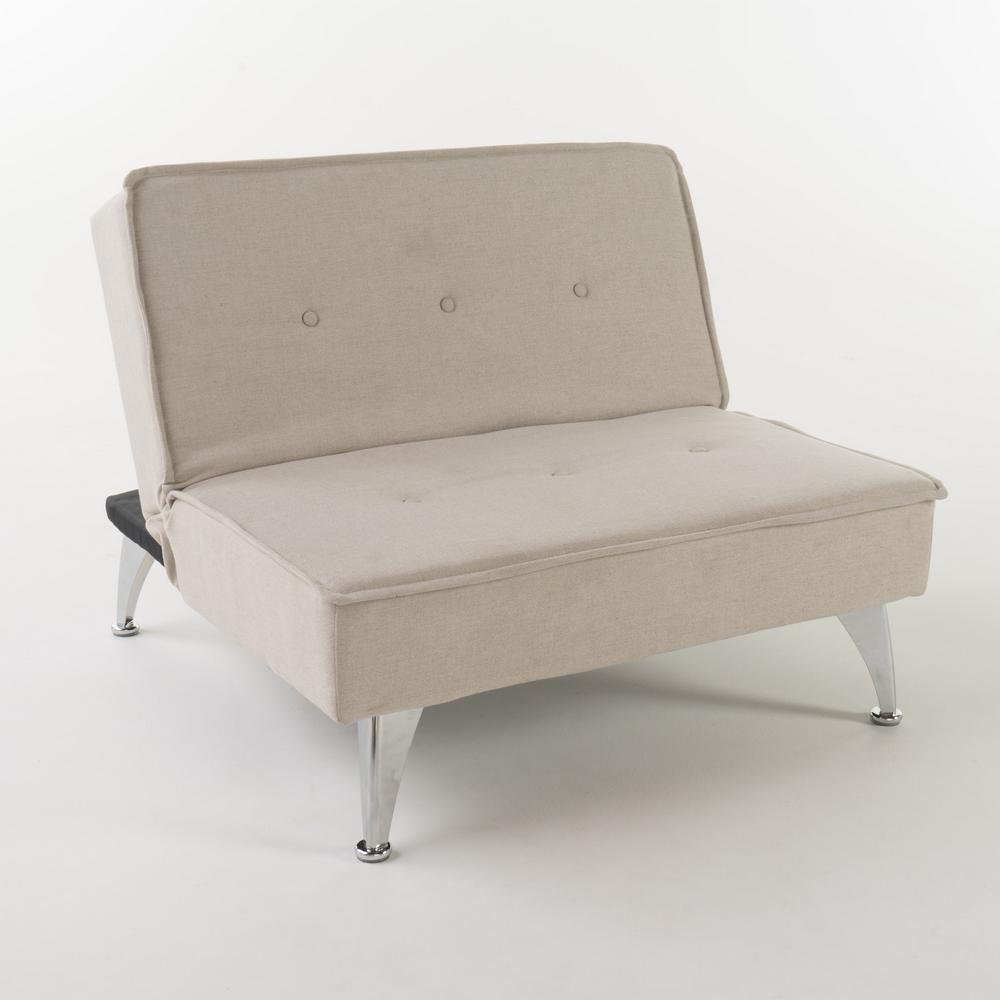 Gemma Mellow Ivory Fabric Sofa Bed