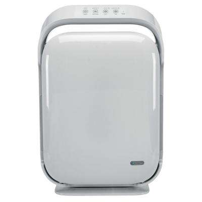 Hi-Performance True HEPA Ultra-Quiet Air Purifier System with UV-C, Allergy and Odor Reduction, Large Room