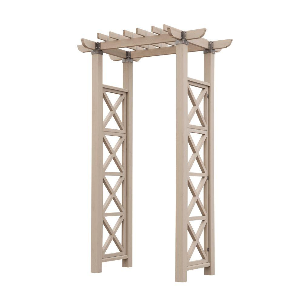 Yardistry 50 in. x 27 in. Entry Arbor-DISCONTINUED