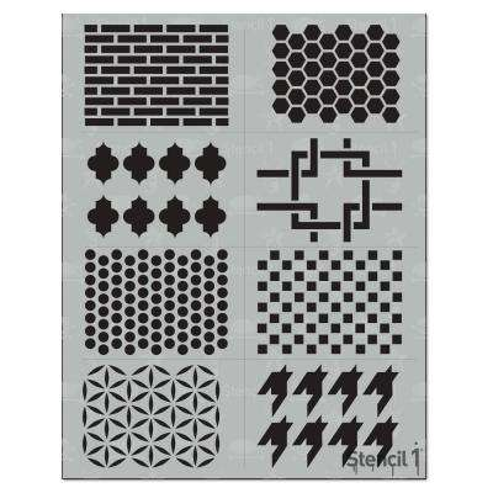 Pattern Stencil (8-Pack)