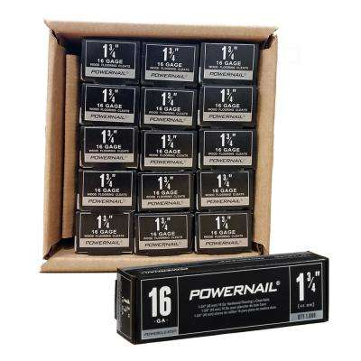 Powercleats 1-3/4 in. 16-Gauge Hardwood Flooring Nails 15 Boxes of 1,000