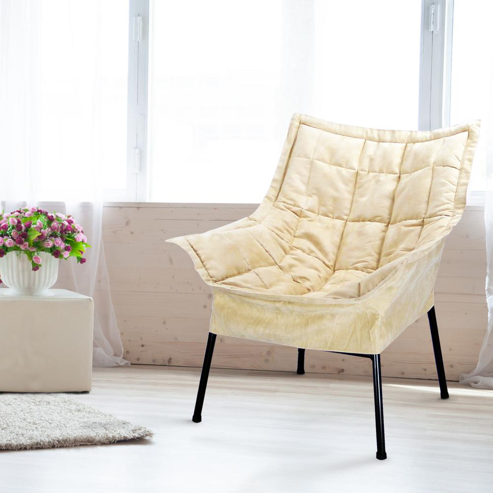 This Review Is From:Black Frame/Beige Cover Milano Chair