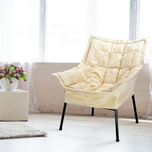 Black Frame/Beige Cover Milano Chair