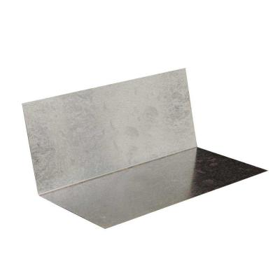 4 in. 4 in. x 8 in. Galvanized Steel Step Flashing