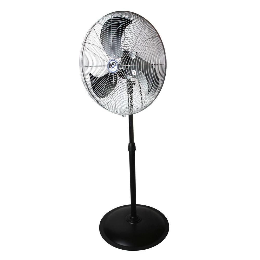 22 in. Heavy Duty, 3 Speed Oscillating Pedestal Fan