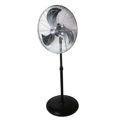 22 in. Heavy Duty, 3 Speed Oscillating Pedestal Fan