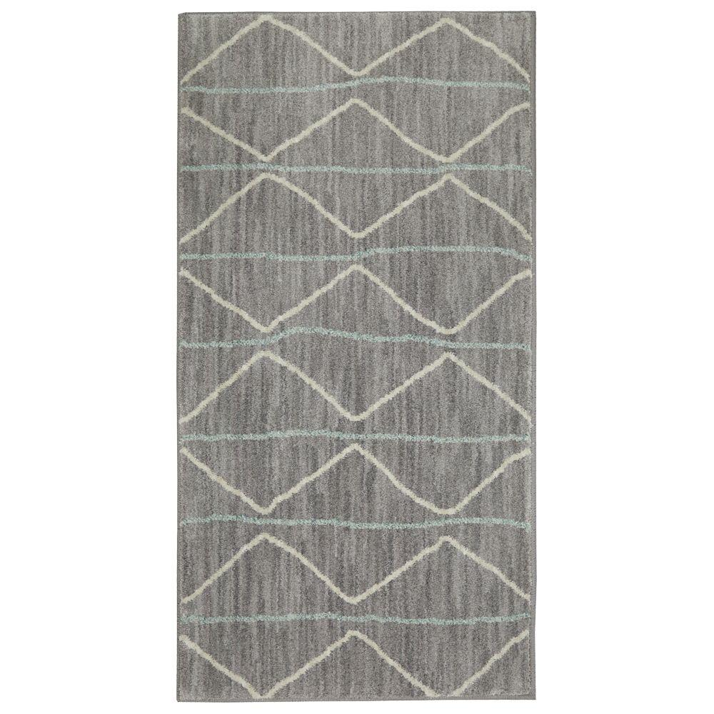 Jeff Lewis Kitchen: Jeff Lewis Spencer Slate 2 Ft. X 4 Ft. Area Rug-497859