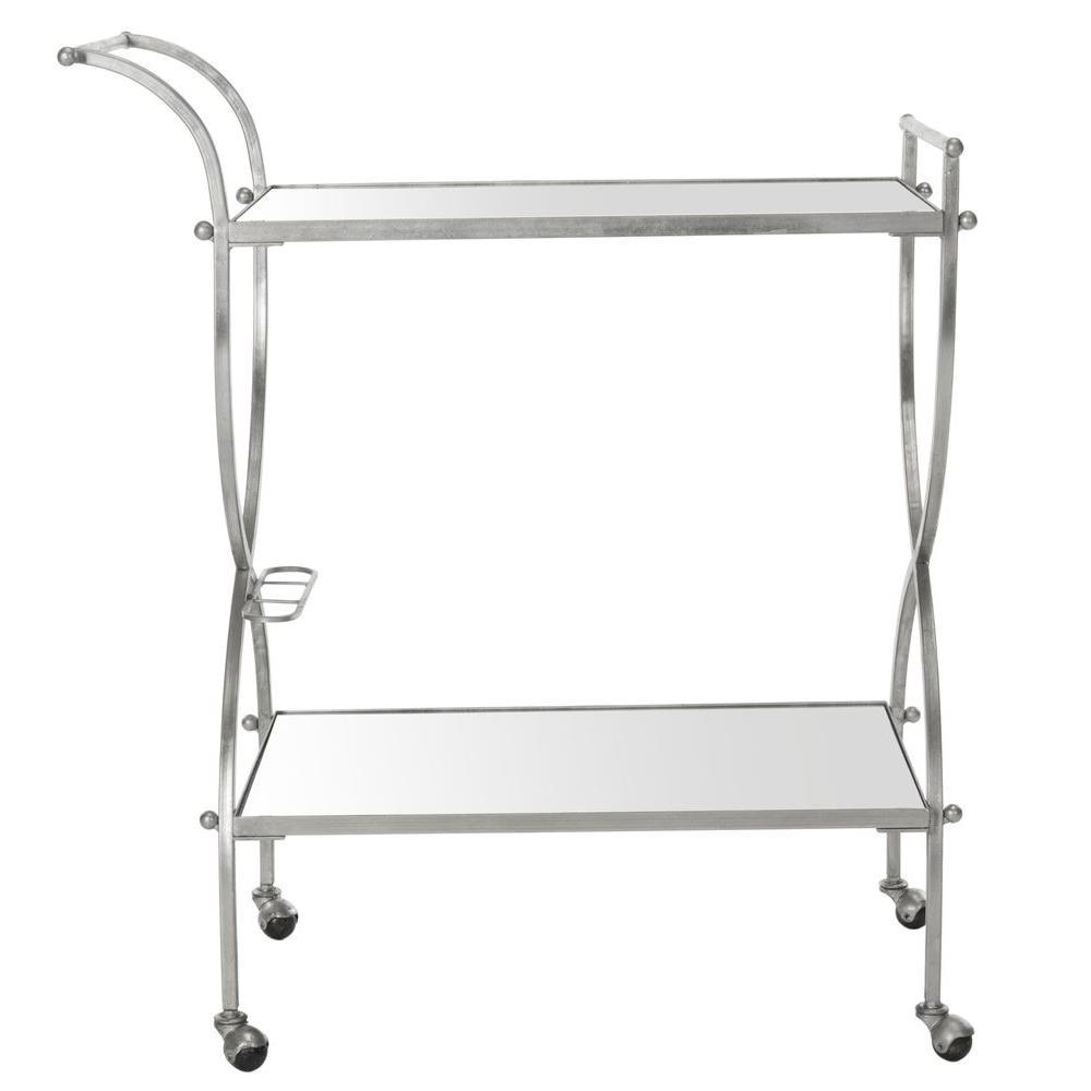 Lucretius Silver Serving Cart