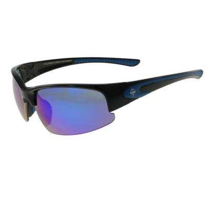 Zero Tension Shiny Black Spark Sunglasses