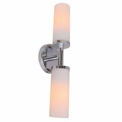 Sydney Collection 2-Light Chrome Wall Sconce