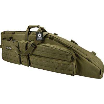 Loaded Gear RX-600 46 in. 2-Rife Tactical Carrying Bag in Olive Drab Green