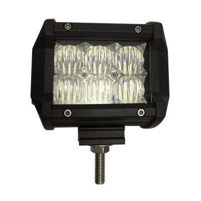 LED 4 in. Off-Road Light Bar with Flood Beam Pattern