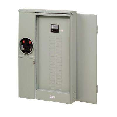 BR 200 Amp 40-Circuit Outdoor EUSERC Meter Breaker Panel