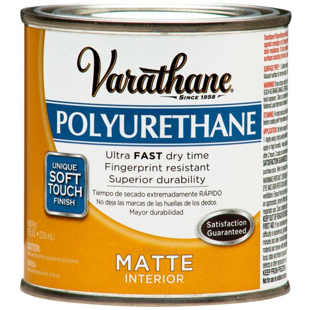 Varathane 1/2 pt. Matte Soft Touch Polyurethane