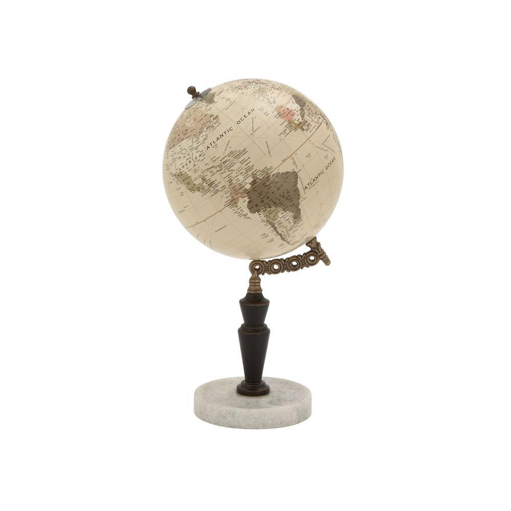 16 in. Multi-Colored Decorative Globe
