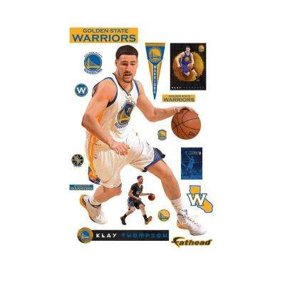 76 in. H x 51 in. W Klay Thompson No. 11 Wall Mural