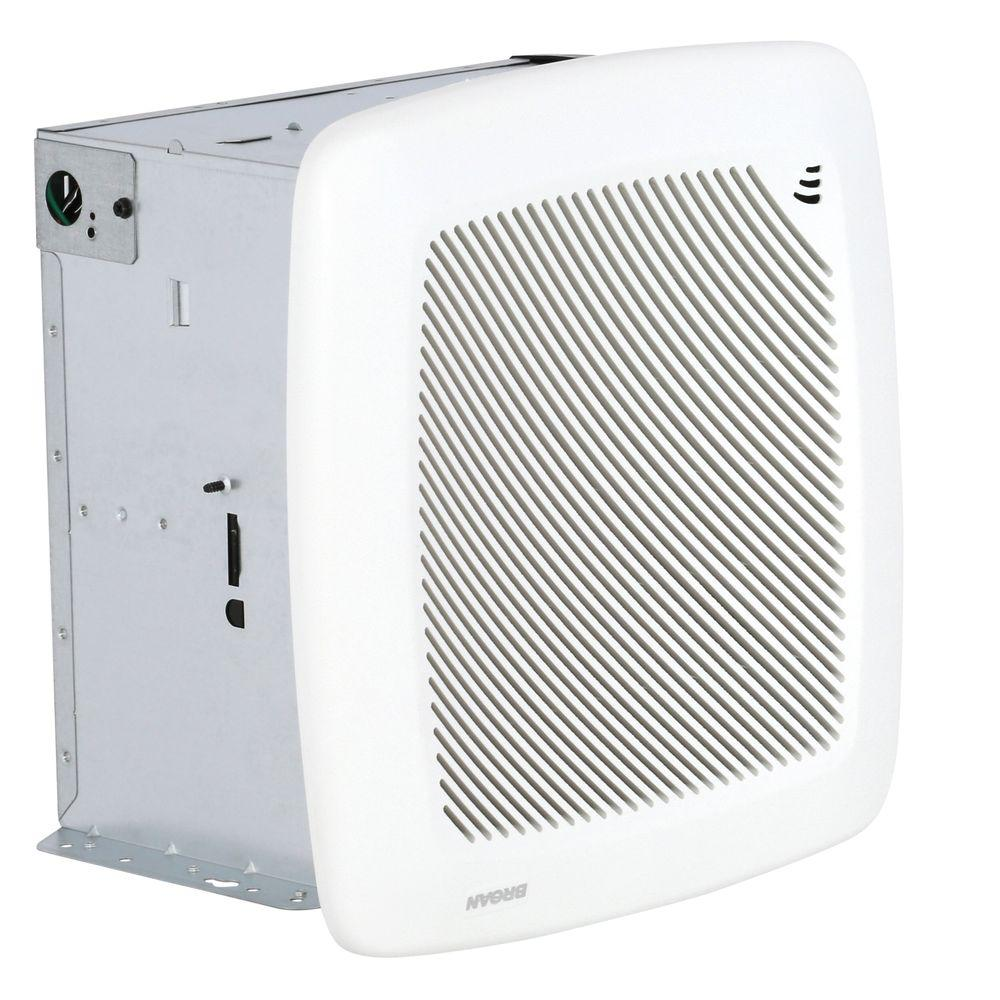 Broan QTR Series Quiet 100 CFM Ceiling Humidity Sensing Exhaust Bath Fan, ENERGY STAR Qualified