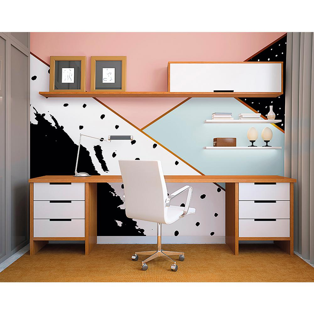 Inky Blots Wall Mural