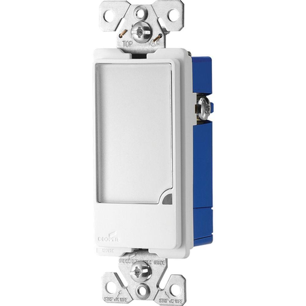 Eaton 15 Amp Dimmable Full LED Night-light - White
