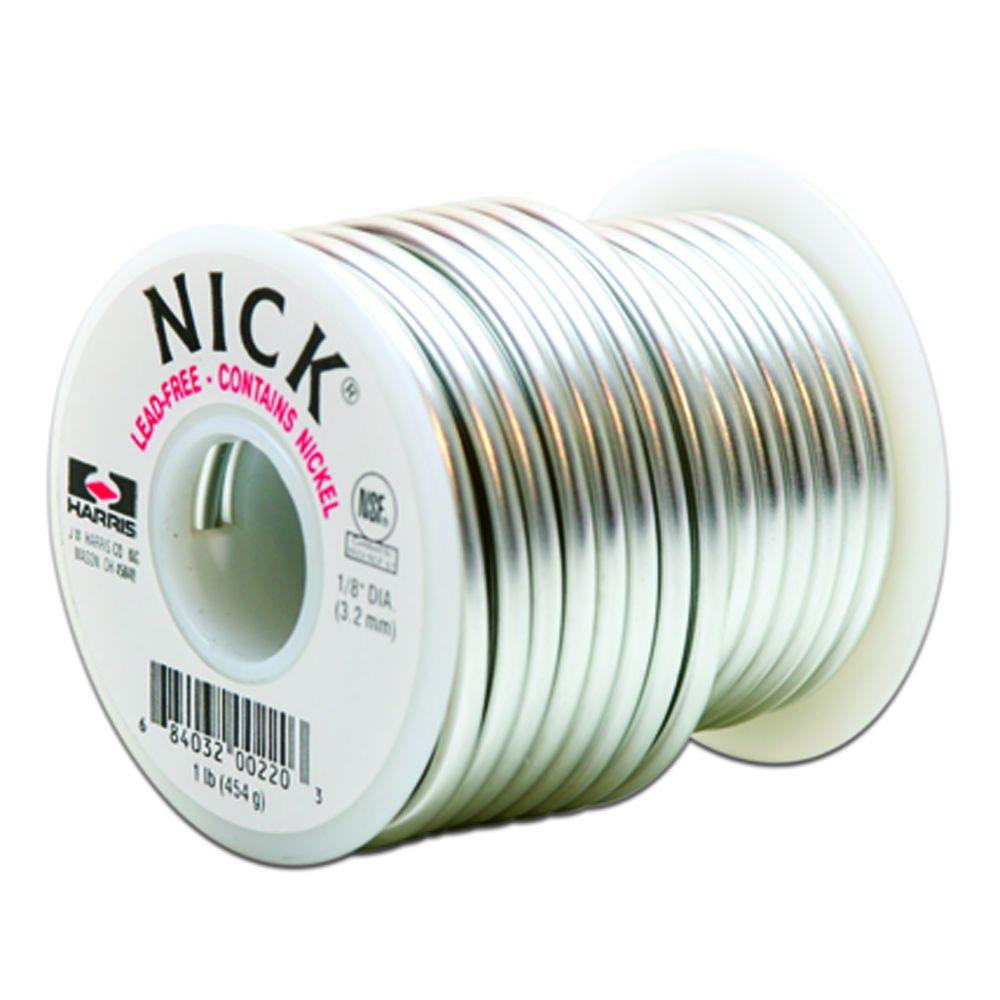 Lincoln Electric 1/8 in. x 1 lb. Lead-Free Plumbing Solder