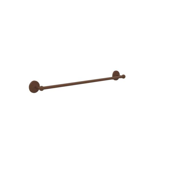 Monte Carlo Collection 30 in. Back to Back Shower Door Towel Bar in Antique Bronze