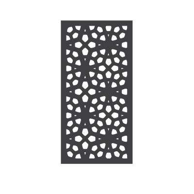 5/16 in. x 24 in. x 48 in. Marakesh Modular Hardwood Composite Decorative Fence Panel