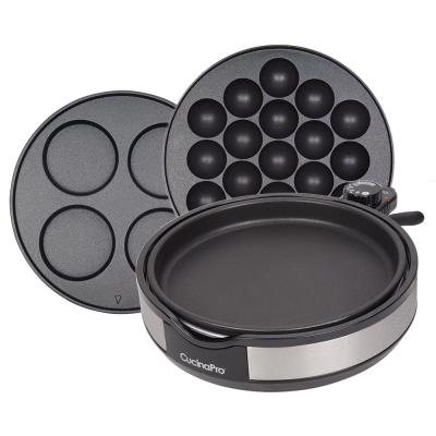 55 sq. in. Stainless Steel Multi-Baker with Removable Plates