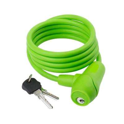 5 ft. x 10 mm Silicon Lock Key in Green
