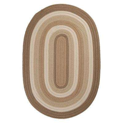 Frontier 7 ft. x 9 ft. Neutral Braided Area Rug